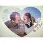 Puzzle Personnalisé 240 pièces coeur