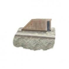 Diorama 1/35: Bunker de protection: Entrée d'abris anti aérien avec base rue pavée