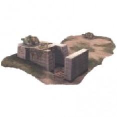 Diorama 1/35 : Bunker allemand type Panzersturm