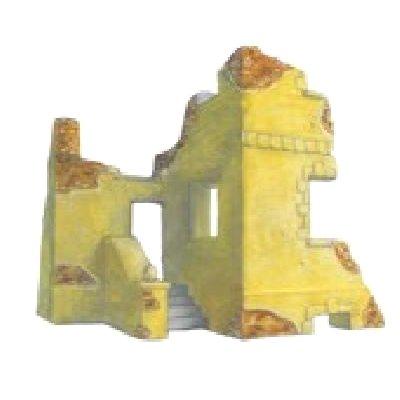 Diorama 1/35 : Maison en ruine avec escalier - R2-2013308