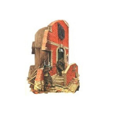 Diorama 1 35 ruine d 39 entr e de maison allemande r2 for Assouplisseur maison
