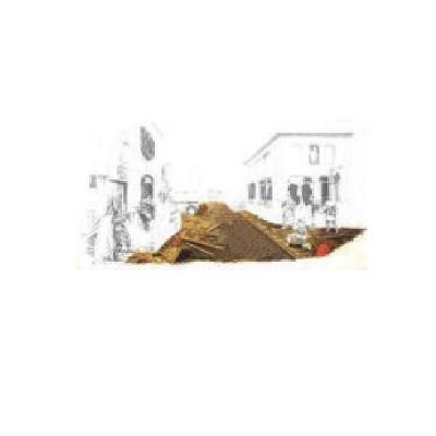 Plaque de base pour rue de ville en ruine - R2-2013306
