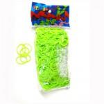 Rainbow Loom Recharge élastiques : Vert Fluo