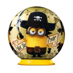 Puzzle ball 54 pièces : Minions : Walk the plank