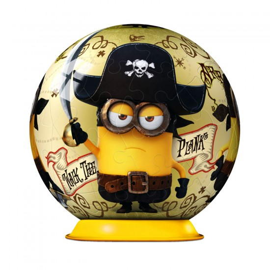 Puzzle ball 54 pièces : Minions : Walk the plank - Ravensburger-11914-1