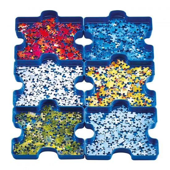 6 boîtes de tri : Sort Your Puzzle - Ravensburger-17934