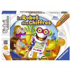Jeu de societé interactif Tiptoi : Le robot des chiffres