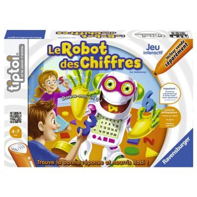 Jeu de societé interactif Tiptoi : Le robot des chiffres - Ravensburger-00739