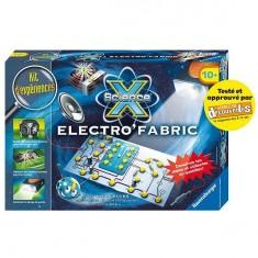 Kit d'expériences Maxi Science X : Electro'Fabric