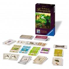 Les châteaux de Bourgogne : Le jeu de cartes