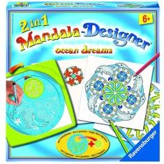 Mandala Designer 2 en 1 : Océans
