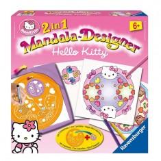 Mandala Designer Hello Kitty Style 2 en 1