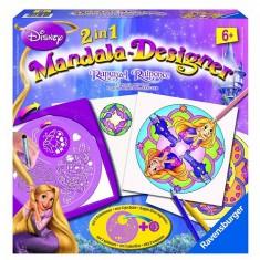 Mandala Designer Raiponce 2 en 1