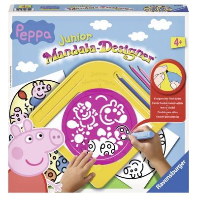 Mandala designer junior peppa pig jeux et jouets ravensburger avenue des jeux - Fusee peppa pig ...