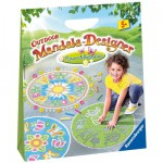 Mandala Designer Outdoor : Fleurs et papillons