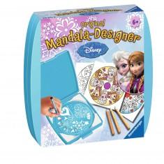Mini mandala-Designer : La Reine des Neiges (Frozen)