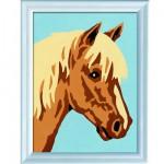 Peinture au numéro Numéro d'Art : Portrait de cheval