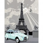 Peinture au numéro : Numéro d'Art Grand Format Classique : Paris nostalgique