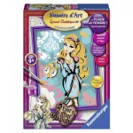 Peinture au Numéro : Numéro d'art Moyen Format : Ever After High : Ashlynn Ella