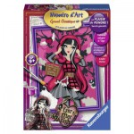 Peinture au Numéro : Numéro d'art Moyen Format : Ever After High : Cerise Hood