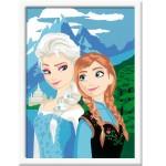 Peinture au numéro Numéro d'Art : la Reine des Neiges Frozen