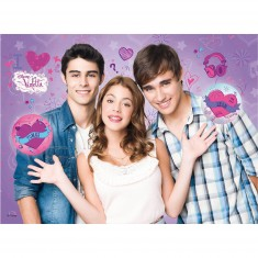 Puzzle 100 pièces : Violetta : Le nouveau départ de Violetta