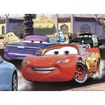 Puzzle 100 pièces - Cars : Sur les chapeaux de roues