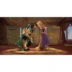 Puzzle 100 pièces - Disney Raiponce : Raiponce et Flynn Rider