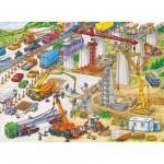 Puzzle 100 pièces - Gigantesque chantier