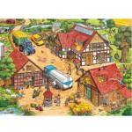 Puzzle 100 pièces XXL -  Activités à la ferme