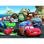 Puzzle 100 pièces XXL - Cars 2 : Course explosive