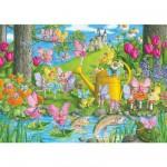 Puzzle 100 pièces XXL - Le jardin magique