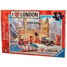 Puzzle 100 pièces XXL - Londres