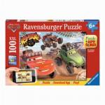 Puzzle 100 pièces XXL : Cars en action