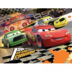 Puzzle 100 pièces XXL : Disney Cars
