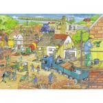 Puzzle 100 pièces XXL : En construction
