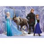 Puzzle 100 pièces XXL : Frozen la reine des neiges
