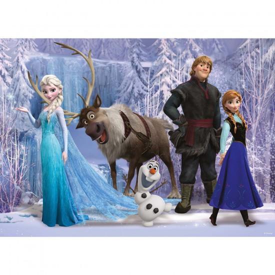 puzzle 100 pi ces xxl la reine des neiges frozen puzzle ravensburger rue des puzzles. Black Bedroom Furniture Sets. Home Design Ideas