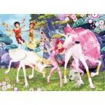 Puzzle 100 pièces XXL : Le monde de Mia