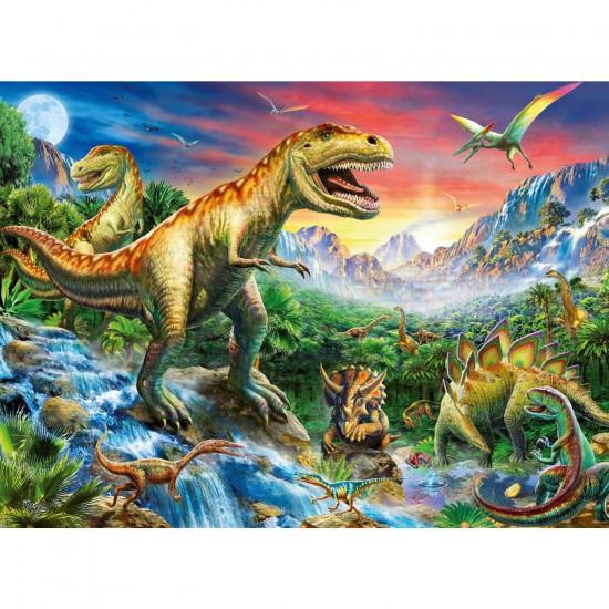 Puzzle 100 pièces XXL : Les dinosaures - Ravensburger-10665