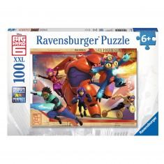 Puzzle 100 pièces XXL : Les Nouveaux Héros Big Hero 6