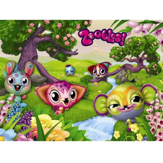 Puzzle 100 pièces XXL : Mes amis les Zoobles - Ravensburger-10792