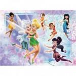 Puzzle 100 pièces XXL : Monde merveilleux de Fairies