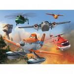 Puzzle 100 pièces XXL : Planes : Lutte contre l'incendie
