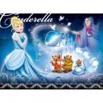 Puzzle 100 pièces XXL : Princesses Disney : Cendrillon et ses amis