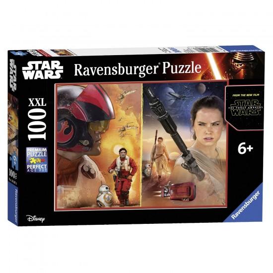 Puzzle 100 pièces XXL : Star Wars : Le Réveil de la Force - Ravensburger-10587