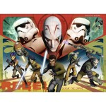 Puzzle 100 pièces XXL : Star Wars Rebels : Héros de l'Empire