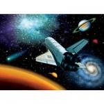 Puzzle 100 pièces XXL - En route vers l'Espace