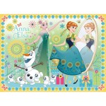 Puzzle 100 XXL : La Reine des Neiges : Frozen Fever