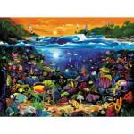 Puzzle 1000 pièces - La vie sous-marine